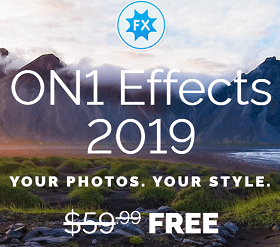 ON1 Effects 2019 Photo Editing Software Available for Free [Win & Mac]