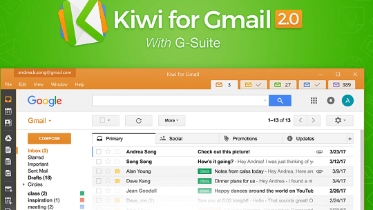 Kiwi for Gmail Free 1 Year License – G Apps for Desktop