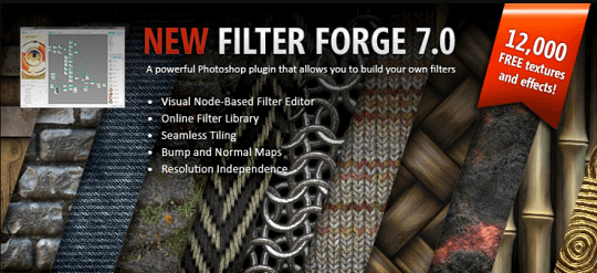 FILTER FORGE – Image Editing App or Plugin Free License [Win & Mac]