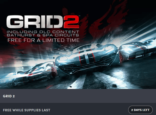Grid 2 Racing Game Steam Key Giveaway [Only 48 Hrs]
