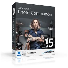 ASHAMPOO PHOTO COMMANDER 15 Full Version Free License