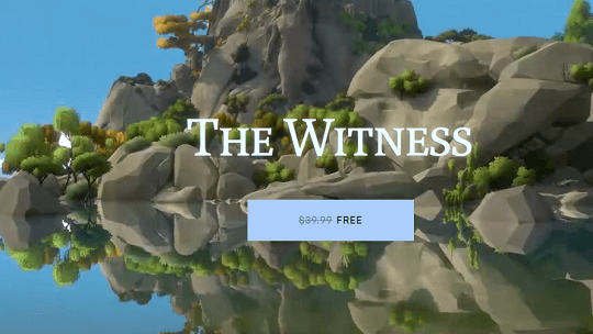 The Witness Puzzle Game Worth $39.99 Now Free [Windows & Mac]