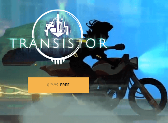 Transistor Sci-fi-themed RPG Free Until May 2 [Win & Mac]