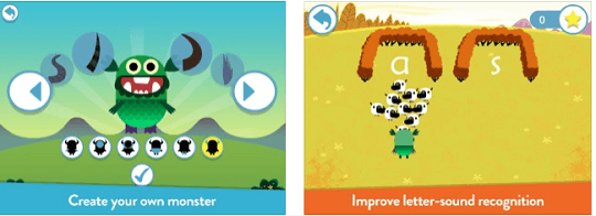 Teach Your Monster to Read phonics & reading game