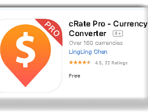 cRate Pro - Currency Converter App