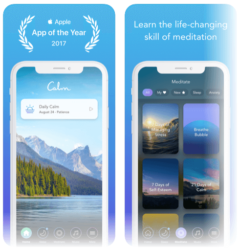 calm - Meditation and relaxation app