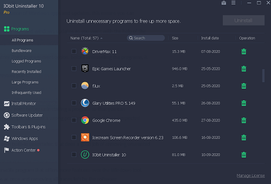 Iobit Uninstaller 10 Pro