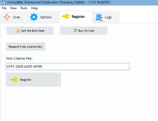 UnHackMe 11.91 license key