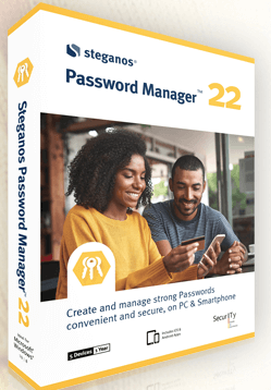Steganos Password Manager 22 Box shot