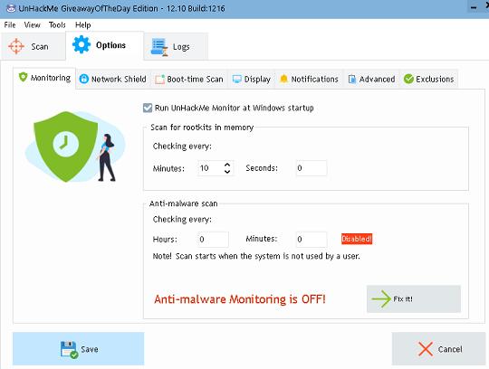 UnHackMe 12 Features
