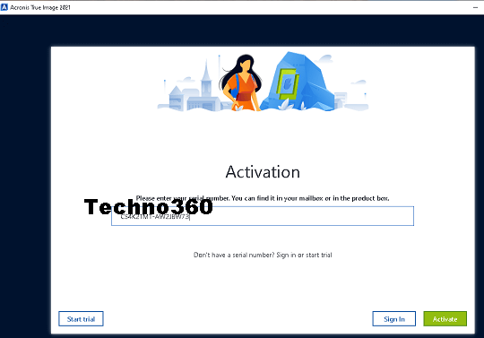 Acronis True Image 2021 Activation
