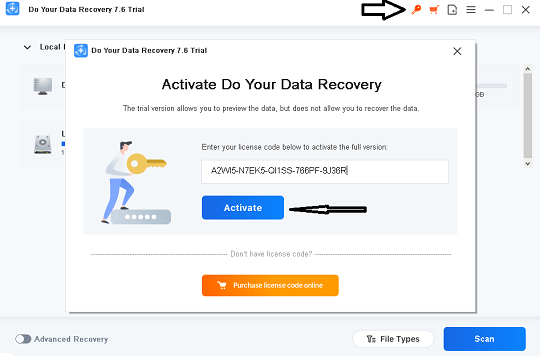 Do Your Data Recovery Pro Activation