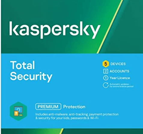 Kaspersky Total Security 2021- Box Shot