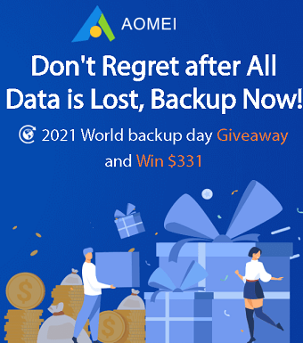 World Backup Day Giveaway