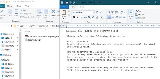 IObit iFun Screen Recorder PRO License key