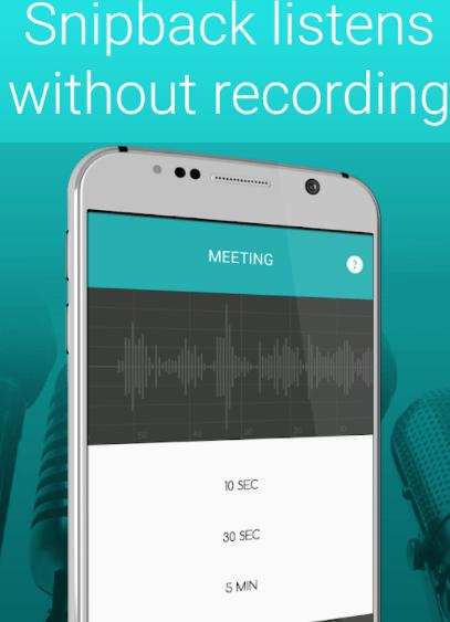 Snipback Voice Recorder