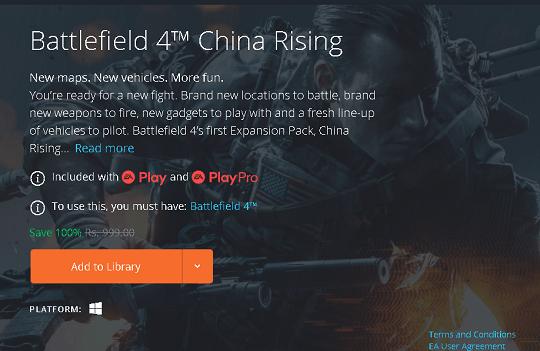 Battlefield 4 China Rising DLC Giveaway