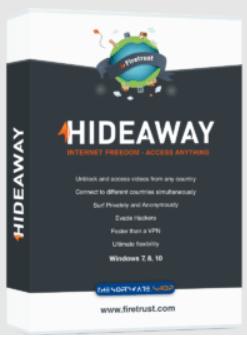 HideAway VPN - box shot