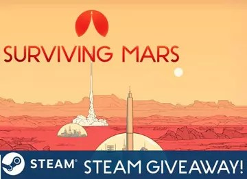 Surviving Mars Steam Giveaway