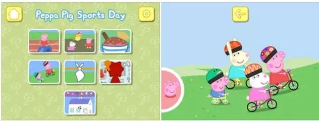 Peppa Pig Sports Day -iPad Game