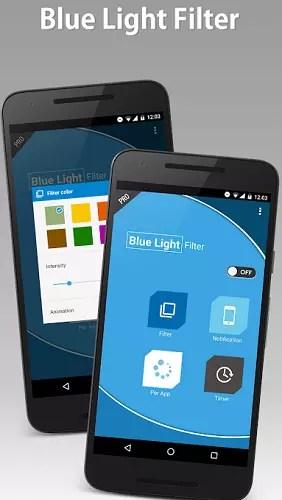 Blue Light Filter Pro Android app
