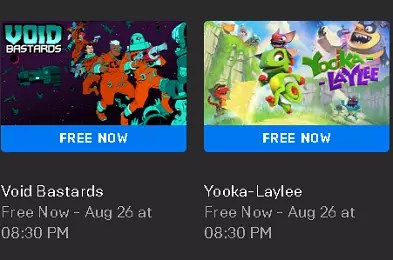 Void Bastards and Yooka-Laylee Games Giveaway