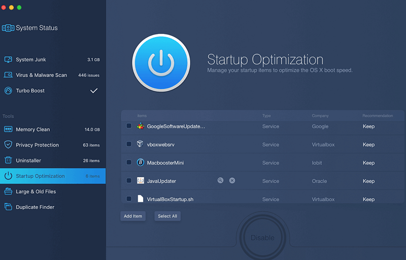 MacBooster-8-Startup-Optimization