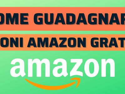 ottenere gift card amazon gratis