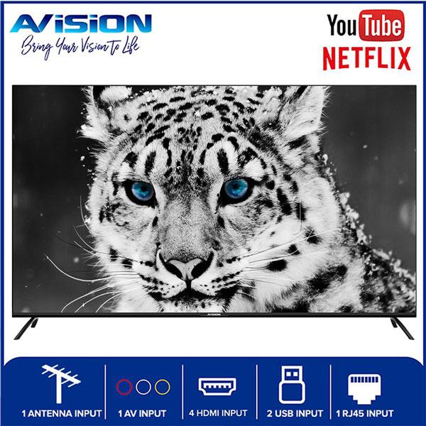 65-inch Avision Frameless Smart Digital HD Led TV