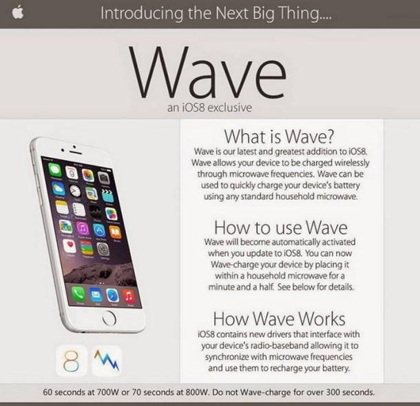 Apple Wave is aHoax
