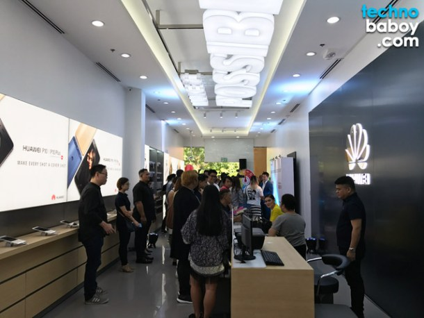 huawei sm mall of asia