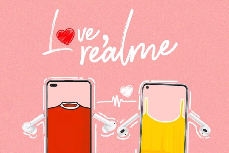 Love, realme Valentine's Day promo