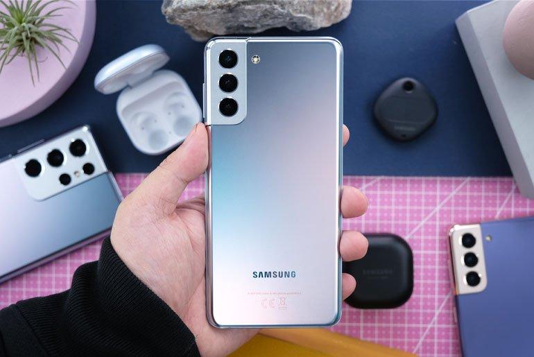 Samsung Galaxy S21+ Phantom Silver