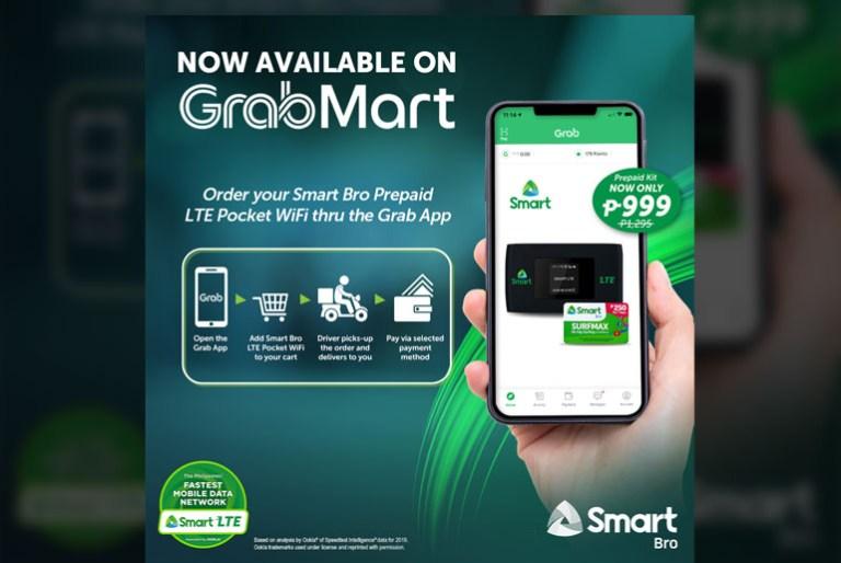 Smart Bro LTE Pocket WiFi Grabmart
