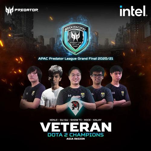 Asia-Pacific Predator League Finals - Team Veteran