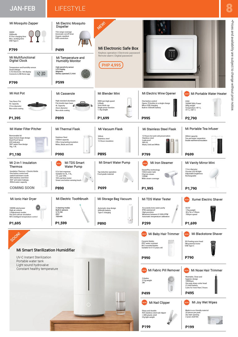 Xiaomi JAN-FEB Brochure