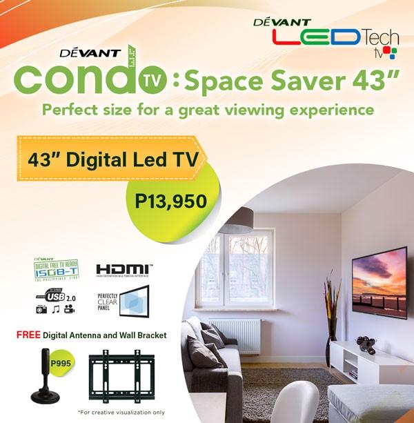 Devant 43-inch LED TV