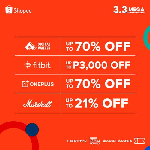 Digital Walker Shopee 3.3 Sale