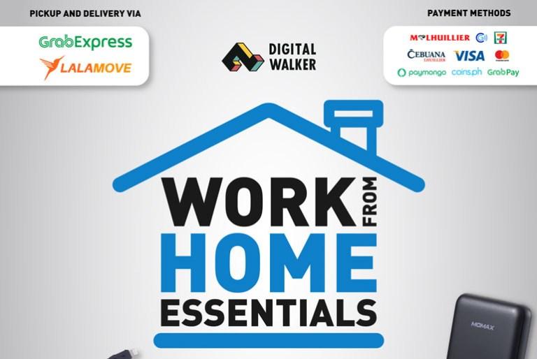 Digital Walker Work from Home Essential Promo