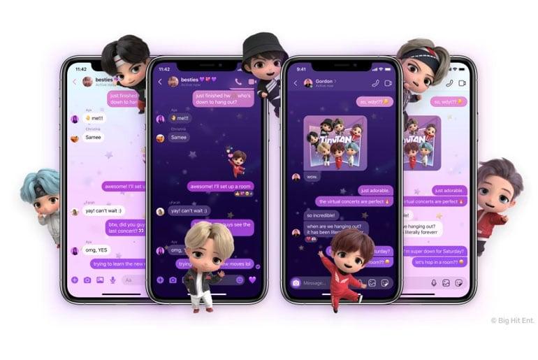 Messenger TinyTAN Theme