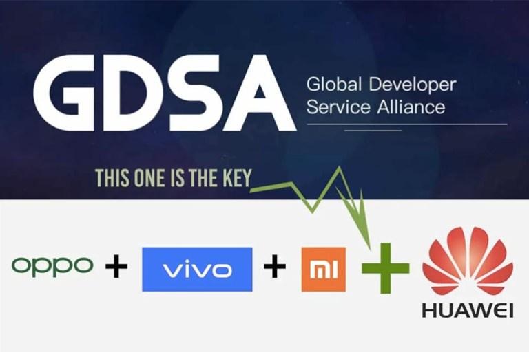 GDSA Huawei Xiaomi Vivo OPPO Alliance