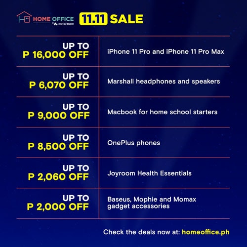 Home Office 11.11 Sale