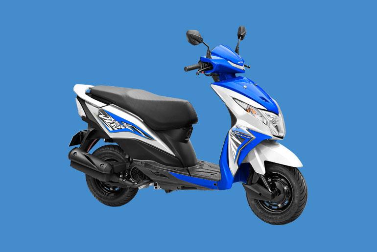 Honda DIO Scooter Price Philippines - Blue