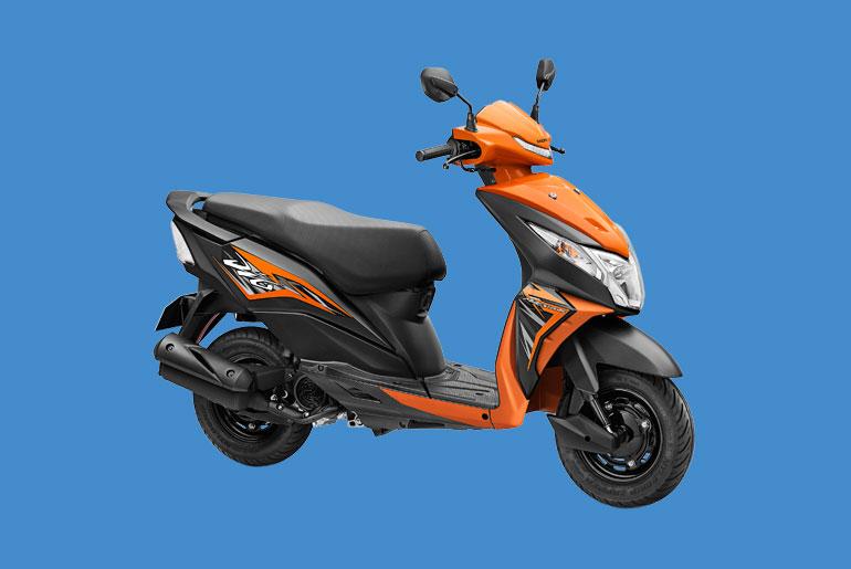 Honda DIO Scooter Price Philippines - Orange