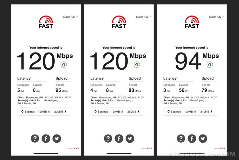 Huawei WiFi AX3 Speed Test