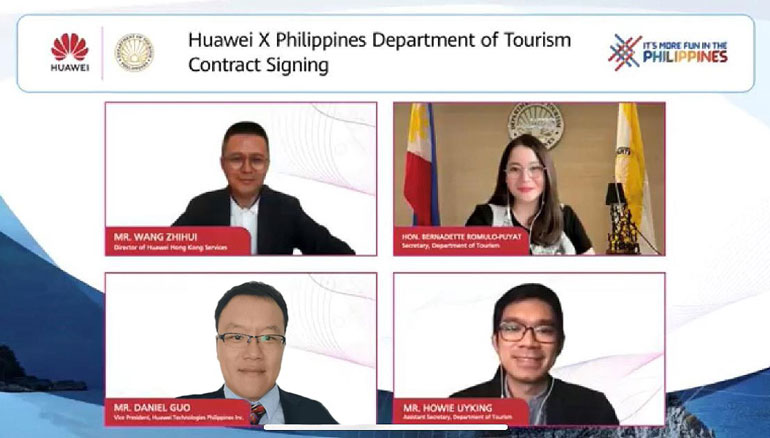 huawei philippines department of tourism