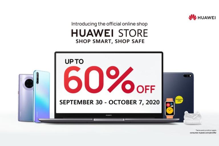 Huawei Store Sale Promo