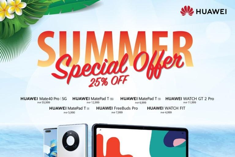 Huawei Summer Promo Offer
