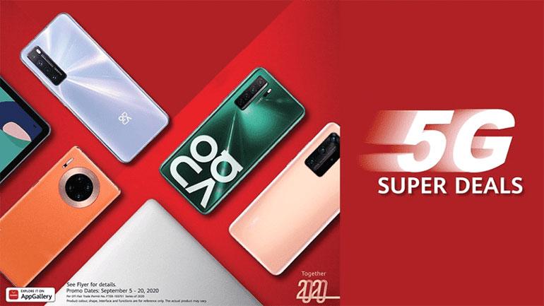 Huawei 5G Super Deals Sale