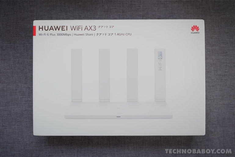Huawei WiFi AX3 unboxing